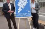 Bürgermeister Daniel Hartmann (l.) und Mobilitätsmanager André Mohrenstein rufen zur Beteiligung am Mobilitätskonzept auf. Foto: Stadt Höxter