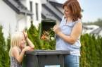 Sauber getrennt wird aus den Abfällen der Biotonne in wenigen Wochen hochwertiger Kompost.Foto:© ASP