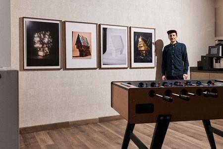Patrick Pollmeier ist Student im Master Gestaltung mit der Studienrichtung Fotografie am Fachbereich Gestaltung der FH Bielefeld. (Foto: Patrick Pollmeier)