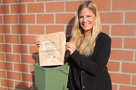 Der ASP empfiehlt Papiertüten zur Bioabfallsammlung.Foto:© ASP