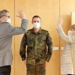 Bundeswehr lobt Zusammenarbeit mit dem Kreis Gütersloh