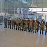 Bundeswehr-Kontingentwechsel im Kreishaus Gütersloh