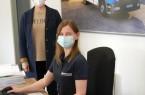 Ausbildungsleiterin Ina Wömpner und Azubi-Sprecherin Sarah Reinker (beide Dreckshage) wissen: Ausbildung während der Pandemie ist möglich.