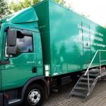 Umweltmobil in Löhne unterwegs