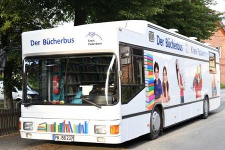 Der Bücherbus des Kreises Paderborn.Foto:Kreis Paderborn.