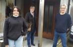 Jahrespraktikantin Mina Al Saady, Azubi-Coach Heike Görder und Architekt Michael Stahn (v.l.n.r.)