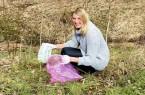 Laura Schuster ruft zur Müllsammelaktion in Barkhausen auf.