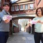 Historisches Gebäude des Kulturzentrums ziert Souvenir-Geldschein