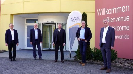 30 Jahre S&N Invent.Von 6 auf 380 Mitarbeiterinnen und Mitarbeiter in 30 Jahren.Foto: S&N Invent.