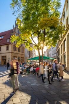 Die Bielefelder Innenstadt steht im Fokus des Prozesses zur City-Entwicklung. Foto: Bielefeld Marketing