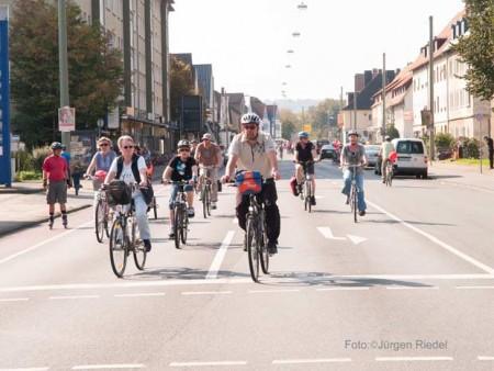 Fahrradfahren - Symbolbild © J.Riedel