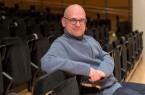 Der Bielefelder Dozent Marc Rohlfing  hält einen Online-Vortrag des Heinz Nixdorf MuseumsForum.