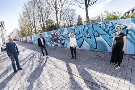 Für ein kreatives Paderborn: (v. l.) Kulturamtsleiter Christoph Gockel-Böhner, WFG-Geschäftsführer Frank Wolters und WFG-Gründungs