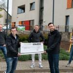 Handwerker spenden 16.240 Euro für das Kinderhospiz Bethel
