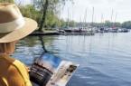 """Entspannen am Wasser und inspirieren lassen - viele Tipps gibt es im neuen """"Dein Potsdam-Reisemagazin"""".Foto:Potsdam Marketing"""