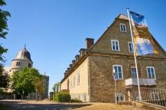 Kreismuseum Wewelsburg ab Dienstag, 15. Juni wieder geöffnet (Foto: Lina Loos für das Kreismuseum Wewelsburg)