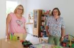 v.l.: Susanne Feldgen und Susanne Fischer haben den Familientreff WiR jüngst eröffnet.