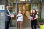 Pop-Up-Regal der GTM bietet Ausstellungsfläche für Kleingewerbe Foto:© Gütersloh Marketing GmbH & Lena Descher).