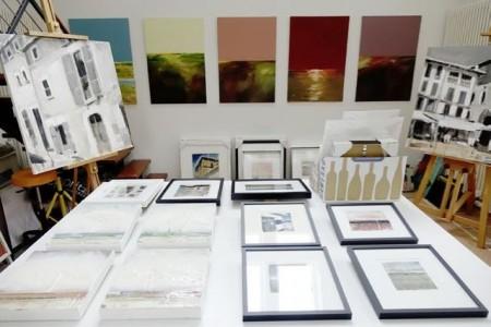 Zahlreiche Ateliers, wie das von Michael Bachus in Rheda-Wiedenbrück, öffnen ab dem 24. Juni ihre Türen für Interessierte.