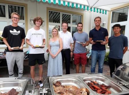 Players` Barbeque_Korda+Rublev+Weber Irina+Ralf+Krajicek+Querrey+Nishikori (NOVENTI OPEN)