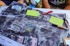 Das Calisthenics-Team Gütersloh brachte ausgefeilte Entwürfe für die Gestaltung der Freizeitanlage mit. Foto: Stadt Gütersloh