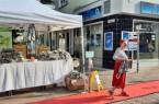Die Beutel- Aktion stieß auf sehr großen Anklang. Alle 300 Beutel waren nach wenigen Stunden verkauft.Foto:© Stadt Paderborn