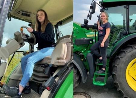 Julia-Sophie Fischer und Jorina Stütze - Auszubildende zur Veranstaltungskauffrau am BILSTER BERG (v.l.n.r.)