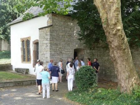 Die Liborikapelle im Garten der Theologischen Fakultät gehört zu den außergewöhnlichen Zielen der Liboriusführung.Foto:© Verkehrsverein Paderborn e. V.