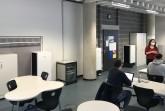 Insgesamt drei mobile Luftreiniger Miele AirControl ermöglichen in diesem Klassenraum wieder Präsenzunterricht, den sie mit einer Lautstärke von maximal 35 Dezibel nicht stören. (Foto:Miele)