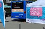 Der Impfbus tourt durch den Kreis. Die Standorte in der kommenden Woche sind am Gartenschaupark Rietberg, an mehreren Standorten in Gütersloh, in Werther auf dem Wochenmarkt, in Stukenbrock, Harsewinkel und Greffen.