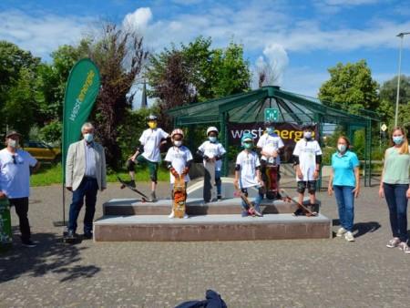 Skate Aid an der Jugendfreizeitstätte.Foto:Stadt Brakel