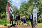 Eröffnung des Fitness Trails am Kaiserbrunnen.Foto:Stadt Brakel