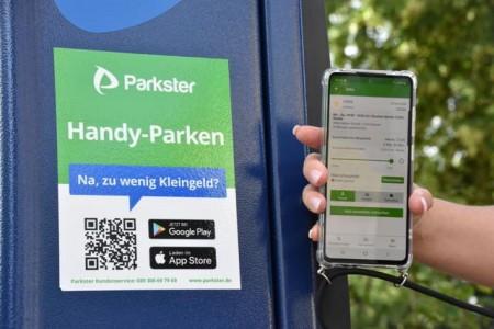 Parken mit dem Smartphone in Herford.Foto:Stadt Herford