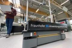 5G Anwendungszentrum beim Fraunhofer IOSB-INA in Lemgo werden 5G-Anwendungen getestet. Quelle: Fraunhofer IOSB-INA.