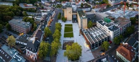 50 Jahre Städte-WOW-Förderung: Stadt Gütersloh nimmt mit Konrad-Adenauer-Platz teil.Foto:Stadt Gütersloh