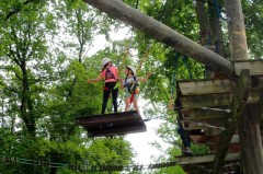 Grenzen erkennen und Stärken entdecken: Beim Kletter-Kurs der Gütersloher Ferienspiele ging es für die Mädchen und Jungen hoch hinaus.