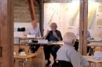 Friedhelm Terfrüchte diskutiert mit den Jurymitgliedern-1
