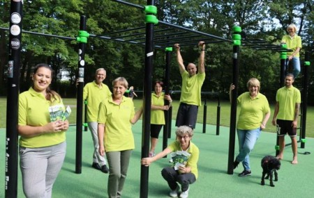 """Startschuss für """"Sport im Park"""".Foto: Stadt Gütersloh"""