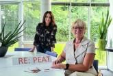 RE:PEAT-Projektteam: Katharina Borowiec und Heike Görder (v.l.n.r.) – Bildnachweis: GILDE