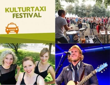 Gleich drei Acts parallel spielen am Samstag, 17. Juli, beim Kulturtaxi Biergarten Festival in verschiedenen Paderborner Locations.Foto:© Stadt Paderborn/Collage
