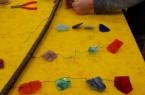 Am 12. August können Kinder in der Glashütte Gernheim kreativ mit Glas arbeiten. Foto: © LWL/Dechant