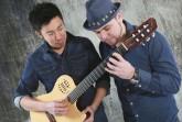 """Das """"Duo Encuentro"""" ist am Mittwoch, 25. August, ab 17 Uhr zu Gast auf der Bühne vor der Martin-Luther Kirche."""