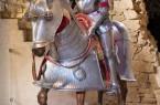 Eine Reiterfigur in der Ausstellung