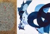 """""""Abstrakt – Aatifi und M ark Tobey"""" zeigt Tuschezeichnungen von Aatifi wie """"Verve 24"""" ( rechts) und Grafiken von Mark Tobey wie """"To Life"""" ( links) . © Repros: H. Hachmeister und Atelier Aatifi/Wolfgang Holm"""
