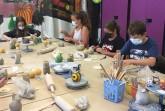 Töpfern ist echte Handarbeit und lockt die Kreativität hervor. Foto: © Jugendtreff Höxter