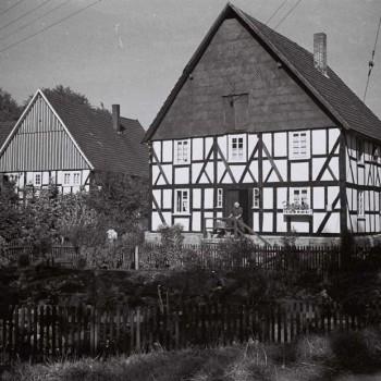 Das Haus Stöcker am ursprünglichen Standort in Burghol-dinghausen. Foto: LWL