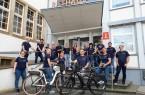 Büren präsentiert sich als klimaengagierte Kommune und nimmt erstmalig am Stadtradeln teil. Das Team der Stadtverwaltung mit Bürgermeister Burkhard Schwuchow freut sich schon auf den Start am 5. September 2021.