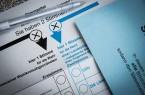 Stimmzettel für die Bundestagswahl: Die Gewerkschaft NGG ruft Beschäftigte aus dem Lebensmittel - und Gastgewerbe dazu auf, wählen zu gehen – und sich über die Wahlprogramme der Parteien in puncto Arbeitsmarkt - und Sozialpolitik zu informieren. Foto: NGG | Alireza Khalili