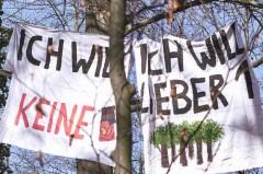 Foto: Besetzung des Steini im Februar dieses Jahres