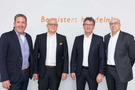 Gertjo Janssen, Jochen Pohle, Franz-Josef Hasebrink und Martin Richrath. Foto: EK